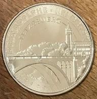 LUXEMBOURG LËTZEBUERG PONT ADOLPHE NEI BRÉCK MDP 2015 MÉDAILLE MONNAIE DE PARIS JETON TOURISTIQUE TOKENS MEDALS COINS - 2015
