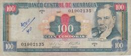 BILLETE DE NICARAGUA DE 100 CORDOBAS DEL AÑO 1997 (BANK NOTE) - Nicaragua