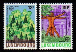 Luxemburg 1986 Europa Protect Nature Y.T. 1101/1102 ** - Nuovi