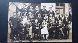 LESCHEROUX - Photo De Groupe (conscrits ?) - HELGEN Photographe à Bourg - Altri Comuni