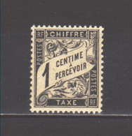 France Taxe N° 10**, Superbe, Cote 3,00 € - 1859-1955 Neufs