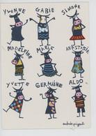 Les Soeurs (nouvelles Images) Andrée Pringent Illustratrice Vaches (prénom Cp Vierge)yvonne Gabie Simone Madeleine Germa - Humor