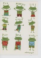 Les Copains Grenouille (nouvelles Images) Andrée Pringent Illustratrice (prénom Cp Vierge) Patflo Marius Lili Nicole Luc - Humor