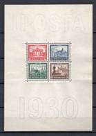 - ALLEMAGNE Bloc N° 1 Neuf * - IPOSTA 1930 - Cote 500,00 € - - Blocks & Kleinbögen