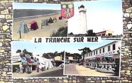 ** Petit Lot De 4 Cartes ** 85 - LA TRANCHE SUR MER : Multivues - Jolies CPSM Dentelées Village ( 2.865 H ) PF - Vendée - La Tranche Sur Mer
