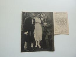 "Origineel Knipsel ( D 500 ) Uit Tijdschrift "" Ons Volk ""  1920 :   Assche  Asse - Ohne Zuordnung"