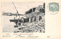 Egypt - CAIRO, Boulag Et Ghezireh Palace Hotel, 1902 - Cairo