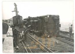 Photo De Presse Accident De Train , Viaduc De Nogent Sur Marne, Déraillement Train Paris - Bâle - Treni
