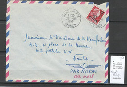 Reunion - Lettre SAINT PHILIPPE - 1959 - Storia Postale