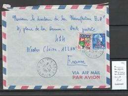 Reunion - Lettre SAINTE ROSE - 1961 - Storia Postale