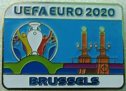 Pin EURO 2020 Host City Brussels - Calcio
