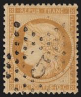 France N°36, Oblitéré étoile De Paris 5, Cérès Siège De Paris - B/TB - 1870 Siege Of Paris