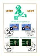 18182009 BE 19820501; Europa, Histoire, Vote, Joseph II; Fllet 4 Oblit. Cob2048-49 - Feuillets De Luxe