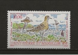 Saint-Pierre Et Miquelon Aérien Neuf N° 73 Le Pluvier Doré Lot 49-108 - Ohne Zuordnung