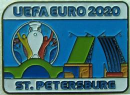 Pin EURO 2020 Host City St. Peterburg - Calcio