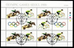 Olympics 1988 Seoul, Ir01 - Blokken & Velletjes