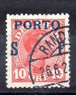 Dinamarca Sello Tasas N ºYvert 8 O - Dienstzegels