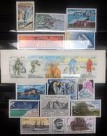 TAAF 2003, Poste N° 349/371 ; Timbres Et Bloc Magnifique, Sans Le Carnet, 2 Vues, Prix Très Intéressant - Komplette Jahrgänge
