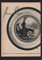 Pub Papier 1952  Automobile PNEU DUNLOP Usine Montluçon Pneus Flanc Blanc - Publicités