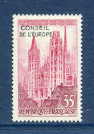 ⭐ France - Timbres De Service - YT N° 16 ** - Neuf Sans Charnière - 1958 ⭐ - Nuovi