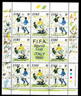 World Cup 1990. Ir09 - Blokken & Velletjes