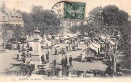 ELBEUF - Le Marché (Place Lecaillier) - Elbeuf