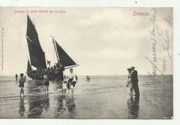 Oostende - Bateau De Pêche - Verzonden - Oostende