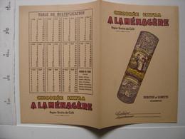Ancien Protege Cahier A LA MENAGERE Chicoree Extra DUROYON Et RAMETTE - Other