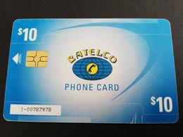 BAHAMAS $10,- CHIPCARD  NEW FRONT LOGO  FRANGIPANI      THE  BAHAMAS  **5376** - Bahamas