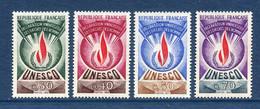 ⭐ France - Timbres De Service - YT N° 39 à 42 ** - Neuf Sans Charnière - 1969 à 1971 ⭐ - Nuovi