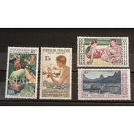 Polynésie Française, Poste Aérienne N°1-4 N** Cote 85.50€ - Unused Stamps