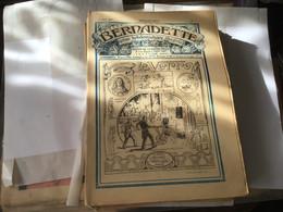 Dieu Protège La France Bernadette Revue Hebdomadaire Illustré Paris 1923  Le Verre - Bernadette