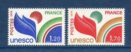 ⭐ France - Timbres De Service - YT N° 56 Et 57 ** - Neuf Sans Charnière - 1978 ⭐ - Nuovi