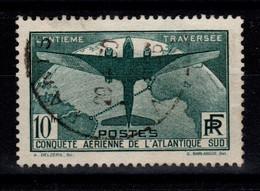 Atlantique Sud YV 321 Obliteration Ronde De 1936 Cote 150 Euros - Oblitérés