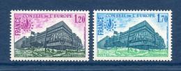 ⭐ France - Timbres De Service - YT N° 58 Et 59 ** - Neuf Sans Charnière - 1978 ⭐ - Nuovi