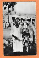 C.P.S.M.-- 2578 -- TCHAD - FORT ARCHAMBAULT - Cavalier Et Sa Monture Harnachée Pour Le 14 Juillet - PHOTO VERITABLE - Afrika