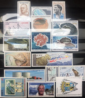 TAAF 2005, Année Complète Poste N° 404/434, Sans Le Carnet (418 à 428) ; Timbres Et Bloc Magnifiques, 2 Vues - Ungebraucht
