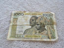 1000 FR BANQUE CENTRALE DE L'AFRIQUE DE L'OUEST - West African States