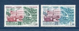 ⭐ France - Timbres De Service - YT N° 73 Et 74 ** - Neuf Sans Charnière - 1982 ⭐ - Nuovi