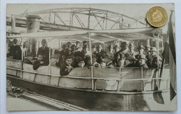 Hamburg, Hafenrundfahrt, Dampfer, Belebt, 1921 - Altona