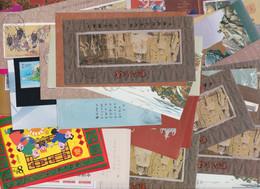 CHINA 1986 - 2003, Liquidation Of  48 Comm. Sheets, Mostly FD-canc., Few CTO, All Original Gum Never Hinged - Blocs-feuillets