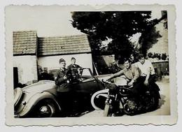 Citroen Traction Avant Décapotable OT WH Moto Allemande Cabriolet Militaire Vehicle Voiture Wehrmacht Automobile Photo - Zonder Classificatie