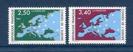 ⭐ France - Timbres De Service - YT N° 106 Et 107 ** - Neuf Sans Charnière - 1991 ⭐ - Nuovi