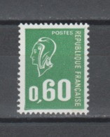 FRANCE / 1974 / Y&T N° 1814 ** : Béquet 60c Typo Avec PHO - Gomme Métropolitaine, Papier Terne Aux UV X 1 - Unused Stamps