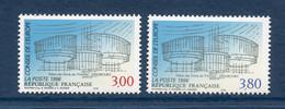 ⭐ France - Timbres De Service - YT N° 116 Et 117 ** - Neuf Sans Charnière - 1996 ⭐ - Nuovi