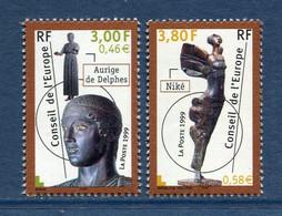 ⭐ France - Timbres De Service - YT N° 120 Et 121 ** - Neuf Sans Charnière - 1999 ⭐ - Nuovi