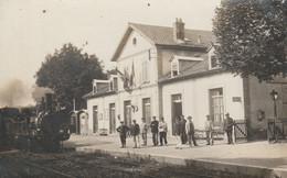Giromagny (Territoire De Belfort) - La Gare - Giromagny