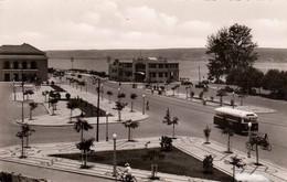LOBITO (Angola) Benguela, Praca Dr. Oliveira Salazar, Strassenansicht, Autobus, Seltene Fotokarte Nicht Gelaufen 195? - Angola