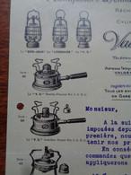 FACTURE - 69 - DEPARTEMENT DU RHÔNE - LYON 1924 - MANUFACTURE LYONNAISE DE LAMPES TEMPETE : VALENTINI FILS GENIN CIE - Non Classés