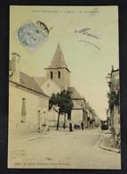 Saint Branchs - L'Eglise Et La Grande Rue - Other Municipalities